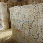 Egypte : le mur blanc de Memphis découvert par les archéologues russes (Sputnik)