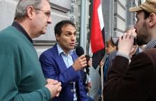 Manifestation à Bruxelles pour la Paix au Yémen : reportage vidéo