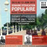 """Education populaire : une semaine pour """"comprendre"""" (France Antilles)"""
