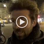 Cyril Dion à la Nuit Debout, avant la projection de son film « Demain »