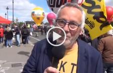 Reportage et micro-trottoir à la manifestation du 3 mai à Paris