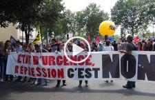Reportage à la manifestation du 23 juin contre la loi El Khomri