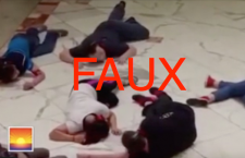 ATTENTION : une fausse vidéo pour illustrer le drame de Munich