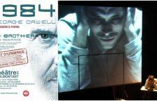 1984 de George Orwell du 20 septembre au 22 décembre au théâtre de Ménilmontant à Paris