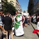 Les chrétiens aussi prient dans la rue: reportage à Sainte-Rita après l'expulsion