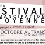 Festival d'émancipation citoyenne (samedi 8 et dimanche 9 octobre)