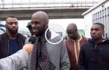 Interview de Kemi Seba, à son arrivée à Orly – Le gouvernement de Maky Sall lui reproche d'avoir eu des « propos désobligeants »