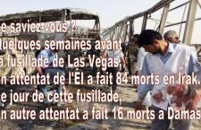 Irak : double attentat de l'EI à Nassiriya, 84 morts, 93 blessés. Qui en a entendu parler ?