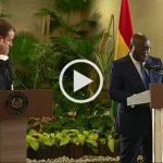 Macron au Ghana : réponse du président Akufo-Addo