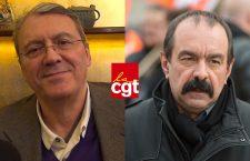 Jacques Nikonoff (PARDEM) et Philippe Martinez (CGT)