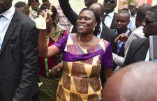Simone Gbagbo le jour de sa libération