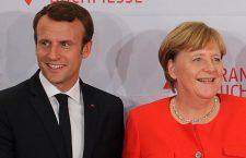 Emmanuel Macron et Angela Merkel